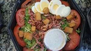 Salade folle de lui - La tartiniere du zoning - Wauthier-Braine