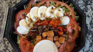 Salade folle d'elle - La tartiniere du zoning - Wauthier-Braine