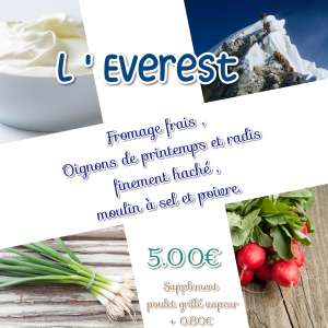 L'EVEREST - La tartiniere du zoning - Wauthier-Braine