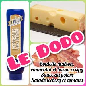 Sandwich baguette blanche Le Dodo - La tartiniere du zoning - Wauthier-Braine