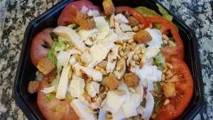 Salade Caesar - La tartiniere du zoning - Wauthier-Braine