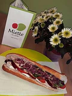 sandwich le capricieux - Miette - Jambes