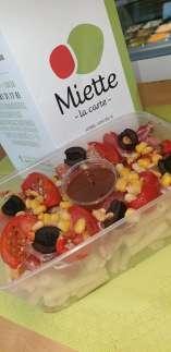 salade de pâtes froides - Miette - Jambes