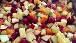 Salade de fruits frais - Miette - Jambes