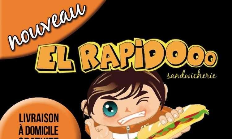 Logo Sandwicherie El rapidooo Boussu