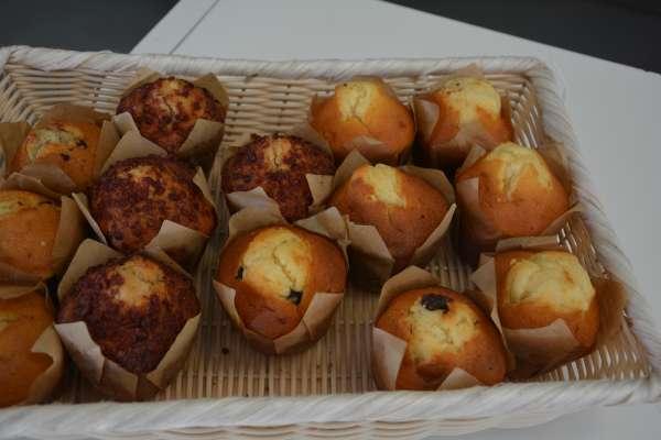 Muffin myrtille - La Cuisine de Mère-Grand - Mont-Saint-Guibert