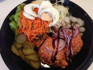 L'assiette américaine - La Cuisine de Mère-Grand - Mont-Saint-Guibert