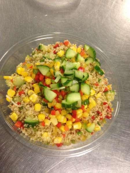 Salade de quinoa aux légumes croquants 450 g - La Cuisine de Mère-Grand - Mont-Saint-Guibert