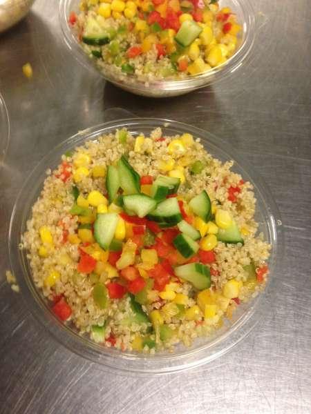 Salade de quinoa aux légumes croquants 250 g - La Cuisine de Mère-Grand - Mont-Saint-Guibert