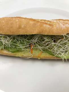 Le Jour sans Viande (sandwich) - Befoody Company - Louvain-la-Neuve