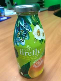 Firefly Grapefruit & Passion Fruit 330 ml - Befoody Company - Mont-Saint-Guibert