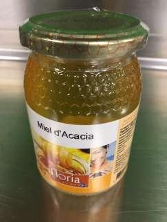 Miel d'acacia BIO 500 g - Befoody Company - Louvain-la-Neuve