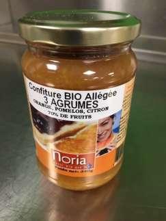 Confiture 3 agrumes BIO 70% de fruits - Befoody Company - Louvain-la-Neuve