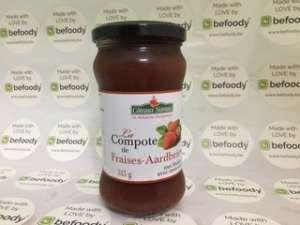 La Compote de Fraises BIO 315 g 90% de fraises - Befoody Company - Louvain-la-Neuve