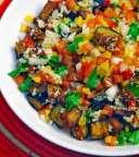 Aubergines salad - Koshary Leuven - Heverlee