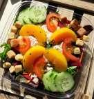 Salade de Pêches au Thon - L'Antre d'Eux - Hoeilaart