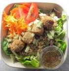 Salade Quinoa & Boulettes Lentilles et Sarrasin - L'Antre d'Eux - Hoeilaart
