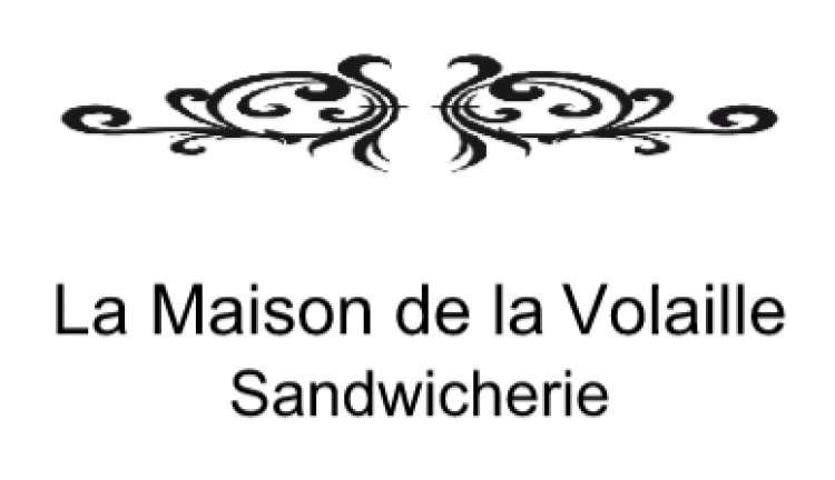 Logo Sandwicherie La maison de la volaille Saint-Gilles