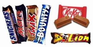 1 barre chocolaté ou Grande Gaufre ou Chips ou 3 Minis au choix - Locabar - Mons