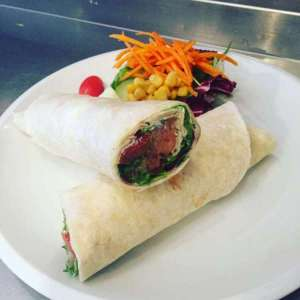 Wrap croquant au poulet - Lunch Gourmand - Ghlin