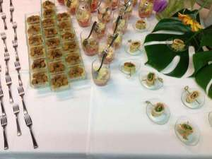 BUFFET Selection de verrines - Lunch Gourmand - Ghlin