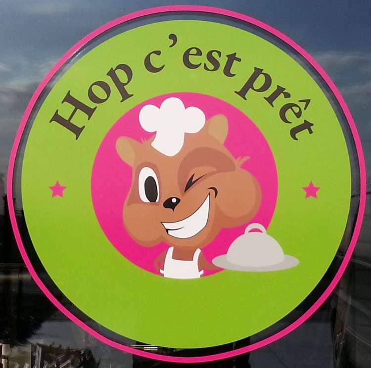 Logo Sandwicherie Hop c'est prêt Baugnies