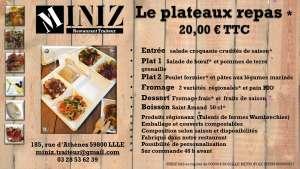 Plateaux repas - Miniz - Lille