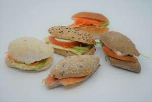 Mini broodjes (5 stuk/pers.) - Quadratura - Geel