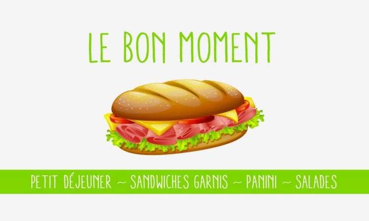 Logo Sandwicherie Le Bon Moment Mons