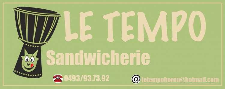 Logo Sandwicherie Le Tempo Hornu