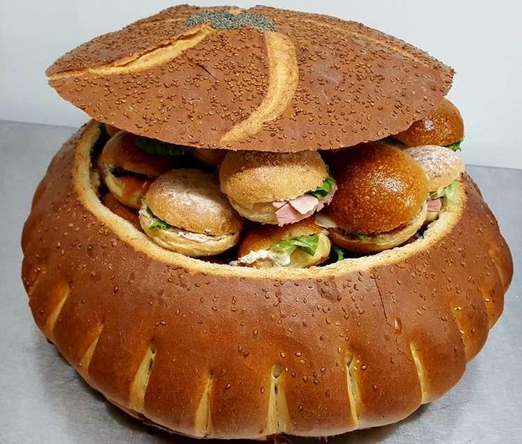Logo boulangerie patisserie Le Pavé Royal Pecq