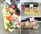 Plateau repas numéro 2 - Traiteur Géraldine - Jambes