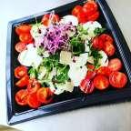 Assiette de tomate mozzarella - Traiteur Géraldine - Jambes