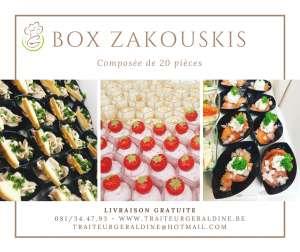 Box Zakouskis - Traiteur Géraldine - Jambes