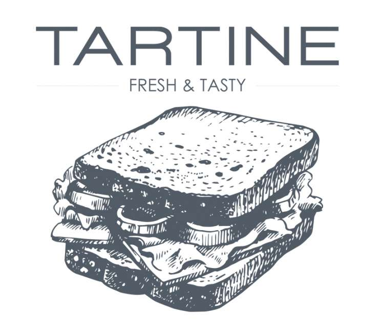 Logo Sandwicherie Tartine Forest