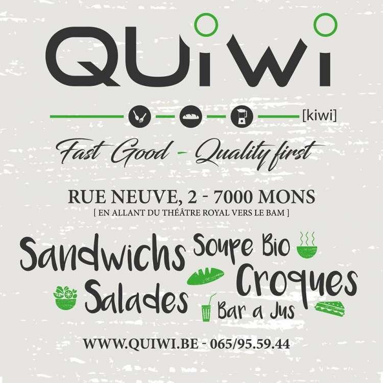 Logo Sandwicherie Quiwi Mons