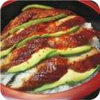 Anguille & Avocat - Shilla Sushi - Uccle