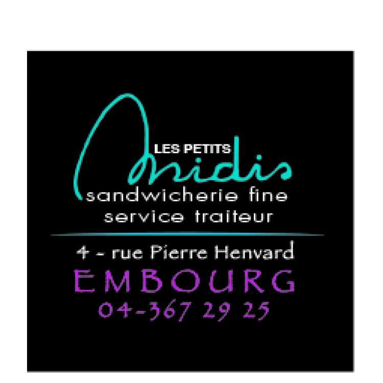Logo Sandwicherie Les Petits Midis Embourg